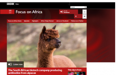 BBC Focus on Africa: The South African biotech company producing antibodies from alpacas